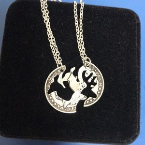 Jewelry - His and Hers couple necklaces